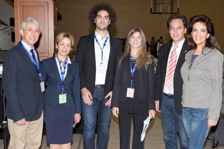 ACSTAC 2017. Δρ Πάνος Βλάχος, Δρ Χάιδω Σαμαρά, Γιάννης Ασσαέλ, Δρ Μαρία Τσαουσίδου, Μάρκος και Δώρα Ασσαέλ